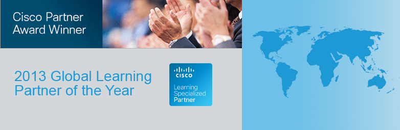 2013 Cisco Global Learning Partner of the Year